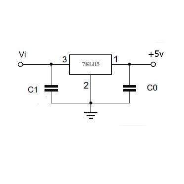 Линейный стабилизатор напряжения 78L05 +5 вольт SOT-