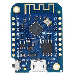 Wemos D1 mini V3.0 на ESP8266 - плата Wi-Fi