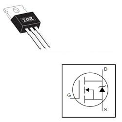 IRF630N 200v, 9A, 300mΩ, MOSFET