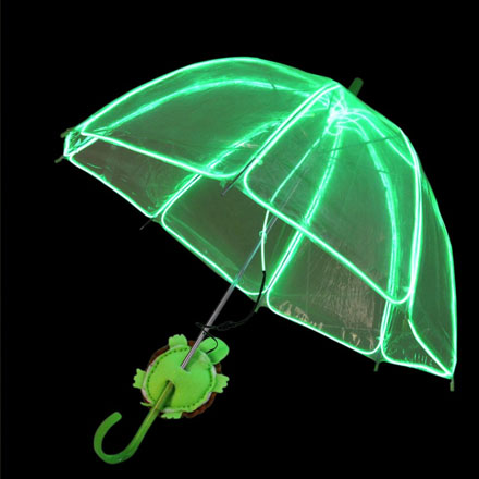 Гибкий неон 2,3 мм, изумрудно-зелёный, метражом